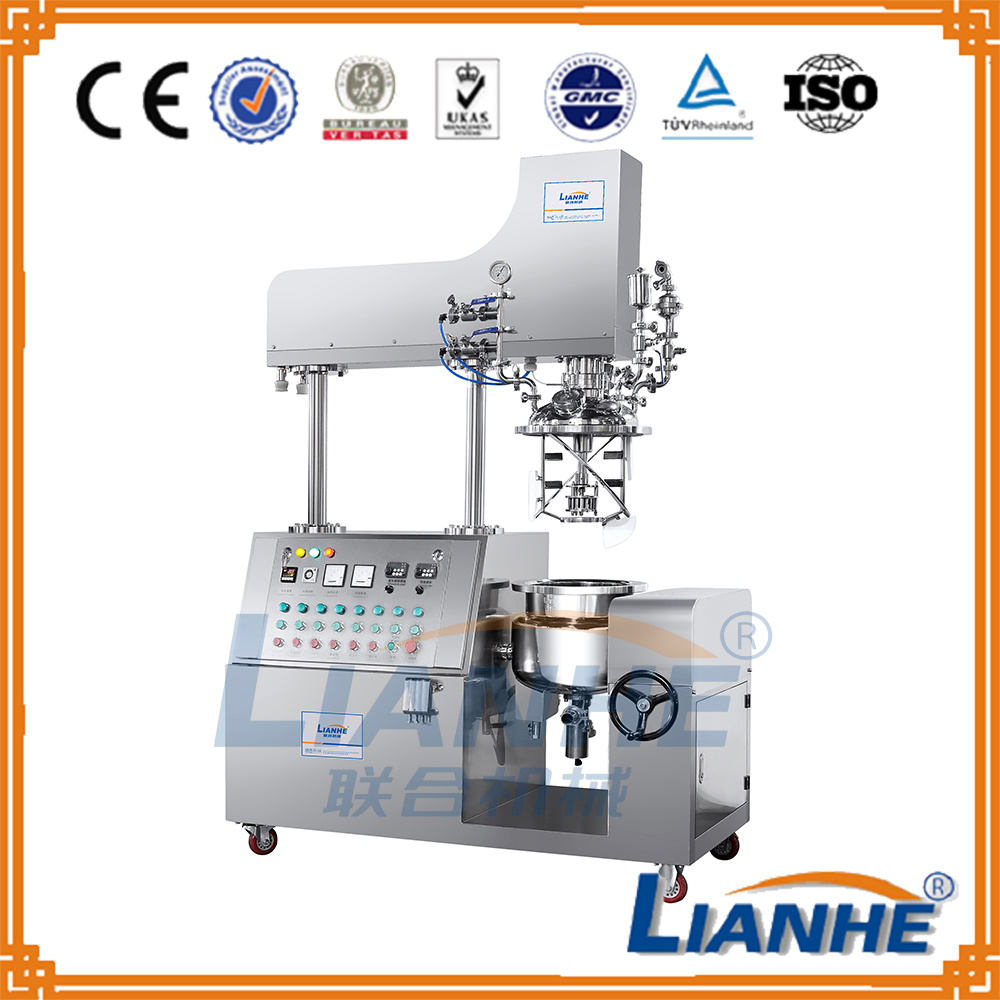20L Vacuum Homogenizing Mixer with Heating/Stirring/Emulsifying