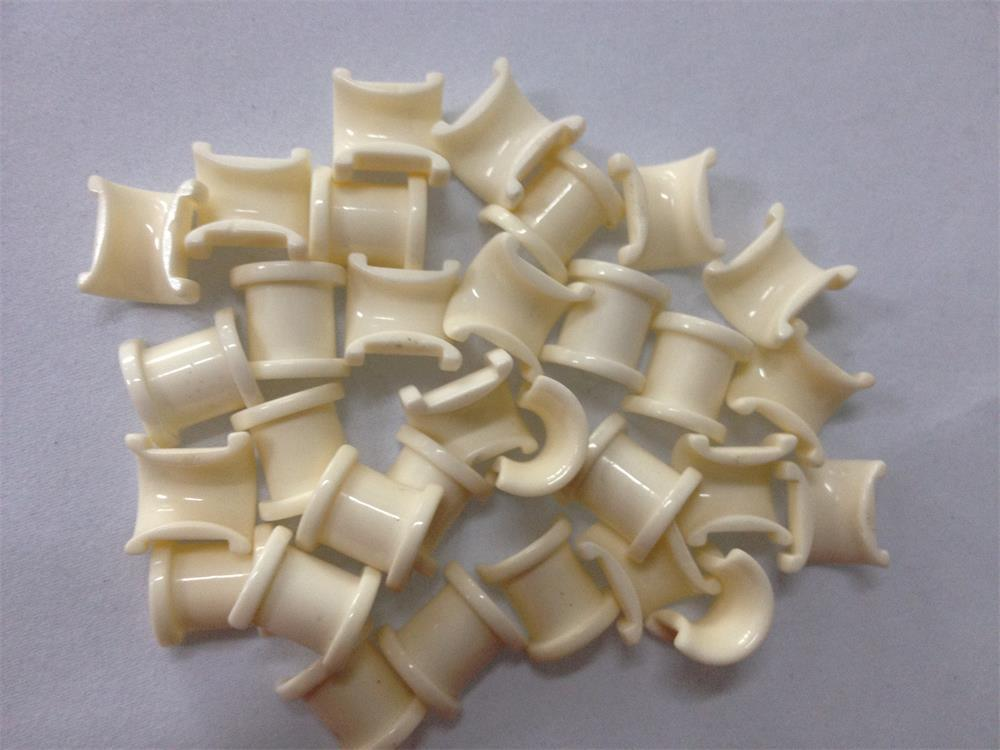 99% Al2O3 Slotted Half Ceramic Guide Eyelet (Textile Coil Winding Guide Eyelet)