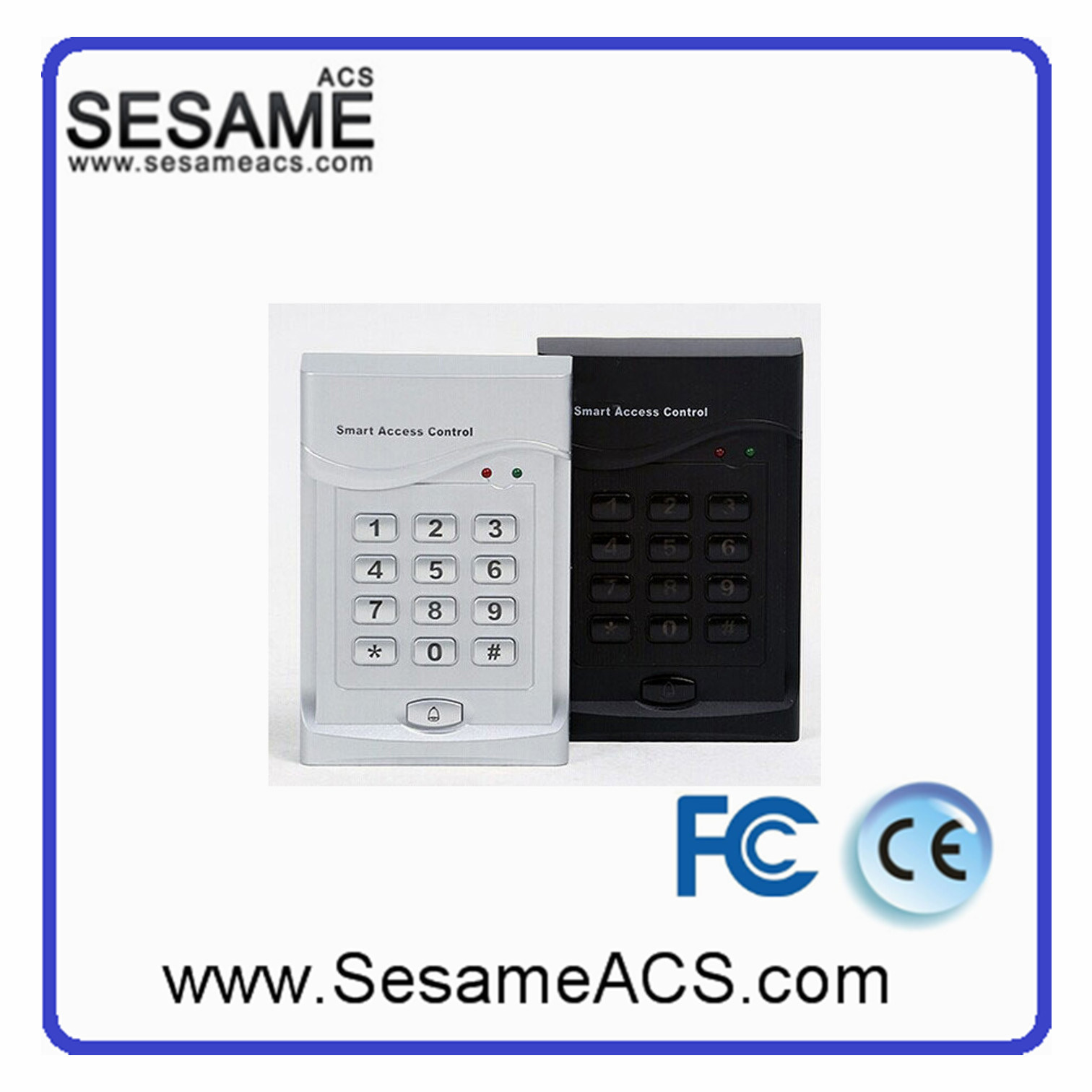 RFID Stand Alone Keypad Card Reader Door Access Control System with MIFARE Reader (SE60C-WG)