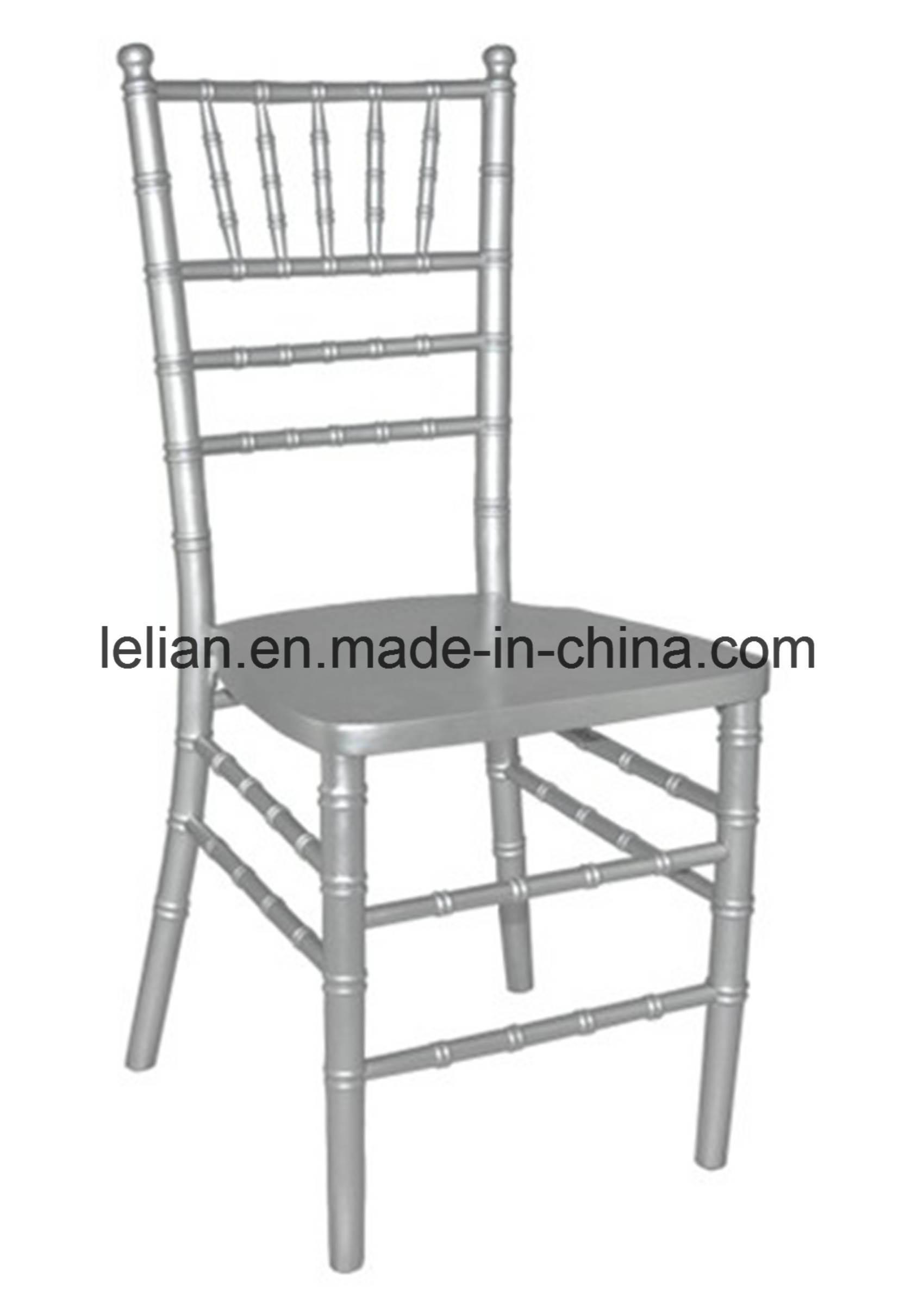 Metal Stack Wedding Chiavari Tiffany Chair (LL-0060C)