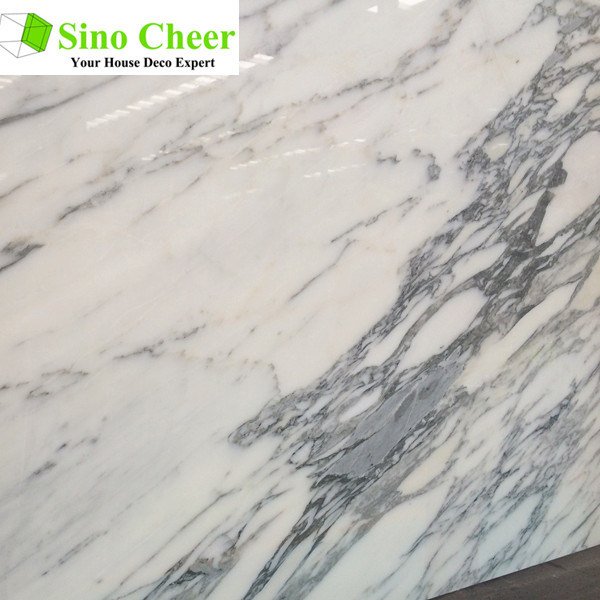 Import White Marble Slabs for Kitchen and Bathroom
