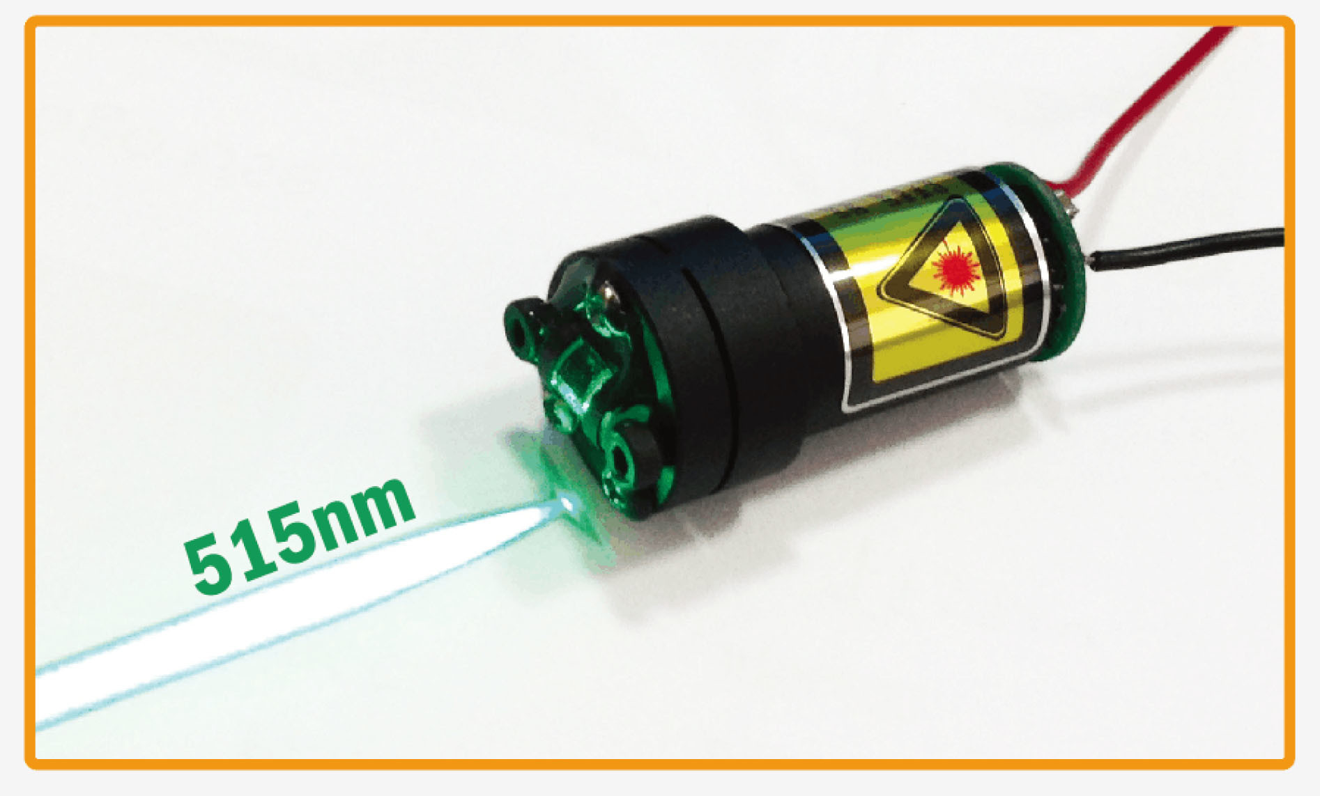 Industrial Laser Modules Danpon Red and Green Laser Modules Appliable to Golf. Sewing Machine
