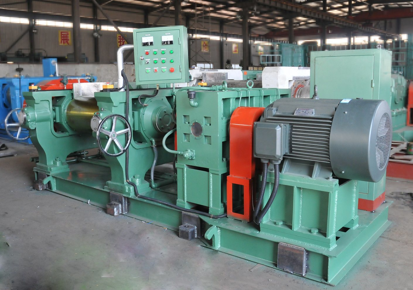 High Performance Open Type Two Roller Rubber Mixing Mill