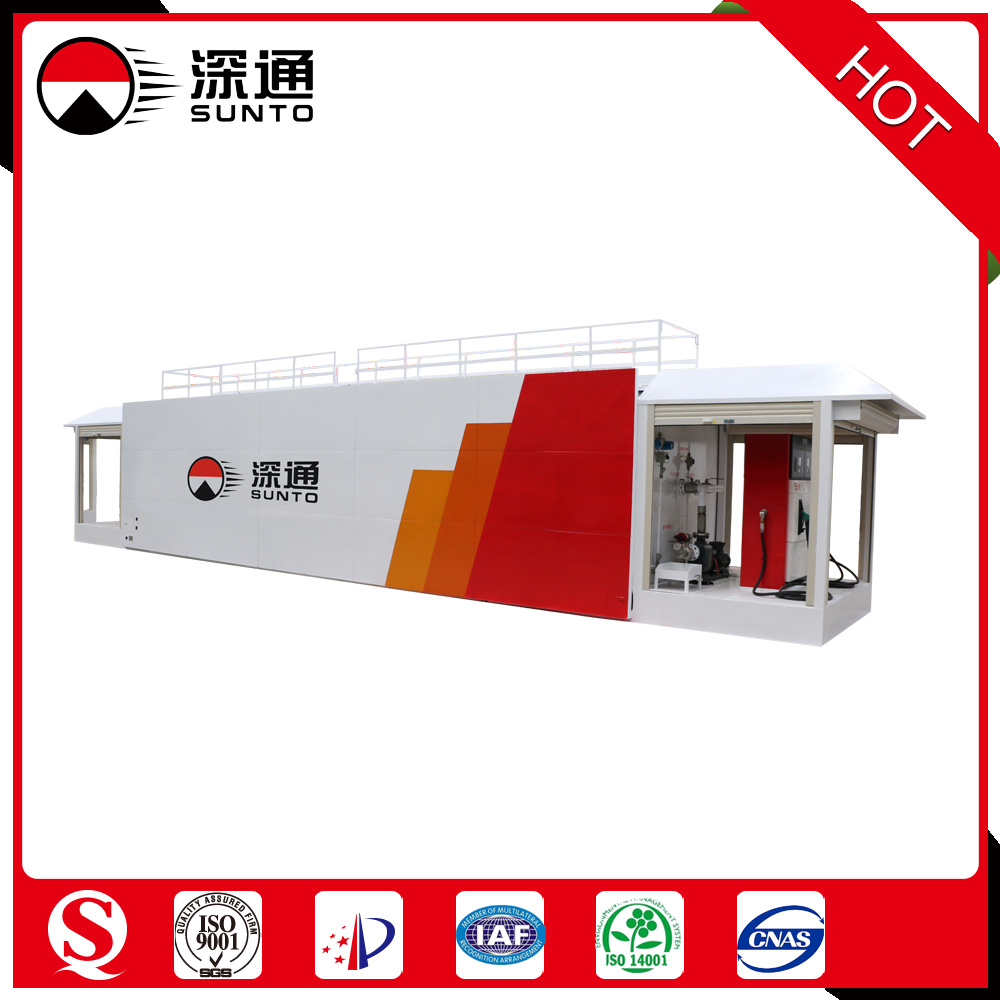 40 Foot Container Anti-Explosion portable Mobile Petrol Station