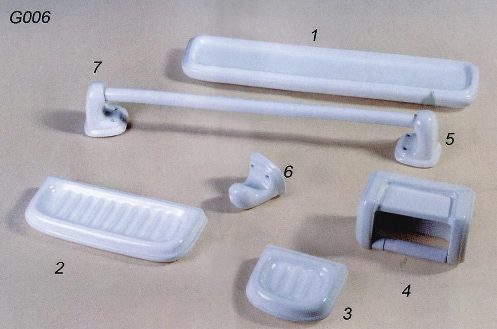 Los accesorios de cer mica del cuarto de ba o cuarto de for Accesorios de bano de ceramica