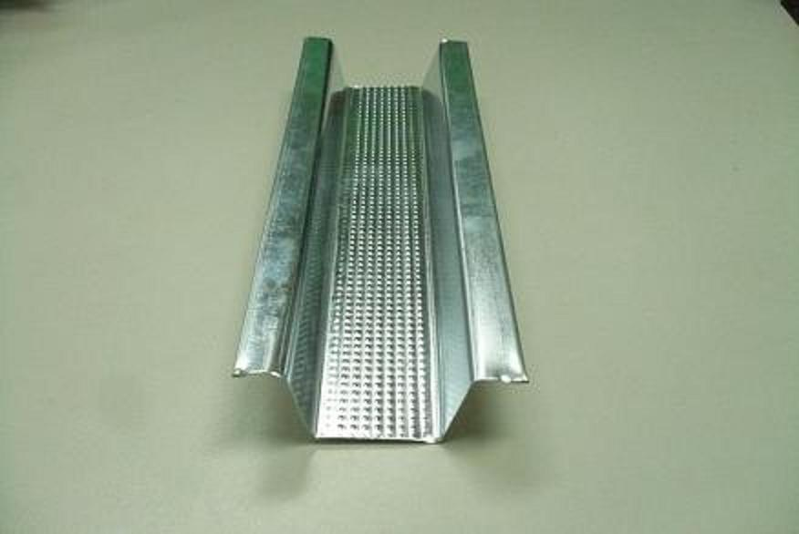 Metal Stud Curtain Wall, Ceiling Runner Track, Concealed Ceiling
