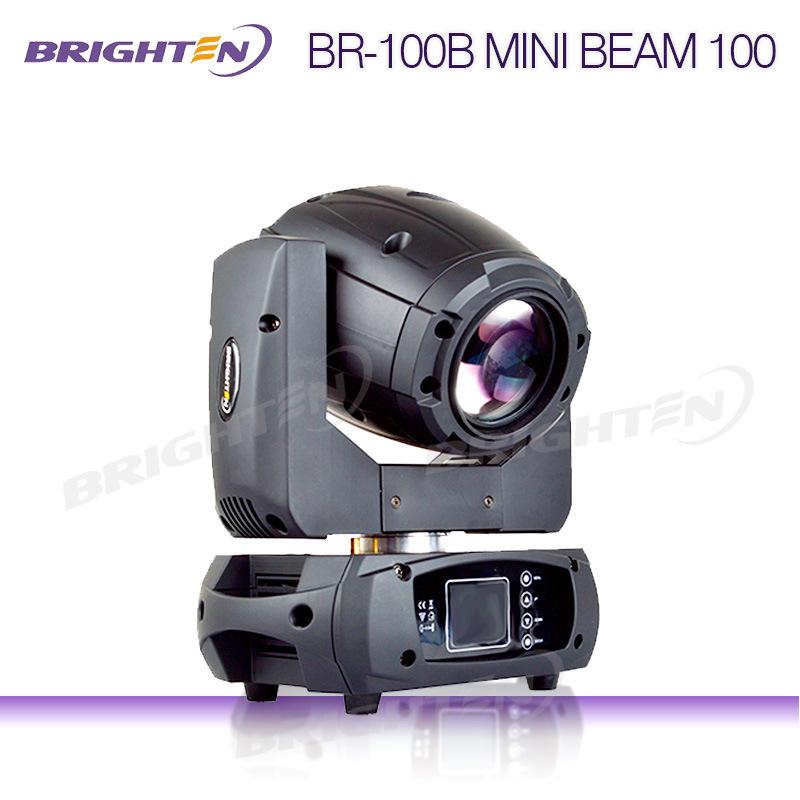 Brighten Mini LED Beam Moving Head 100W Lighting