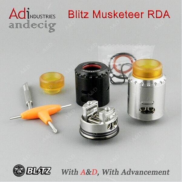 First Batch Authentic Blitz Enterprises Musketeer Rda