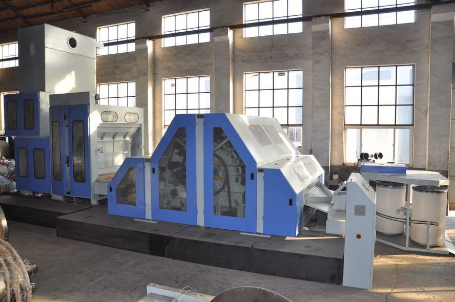 Woolen and Worsted Wool Carding Spinning Machine (CLJ)
