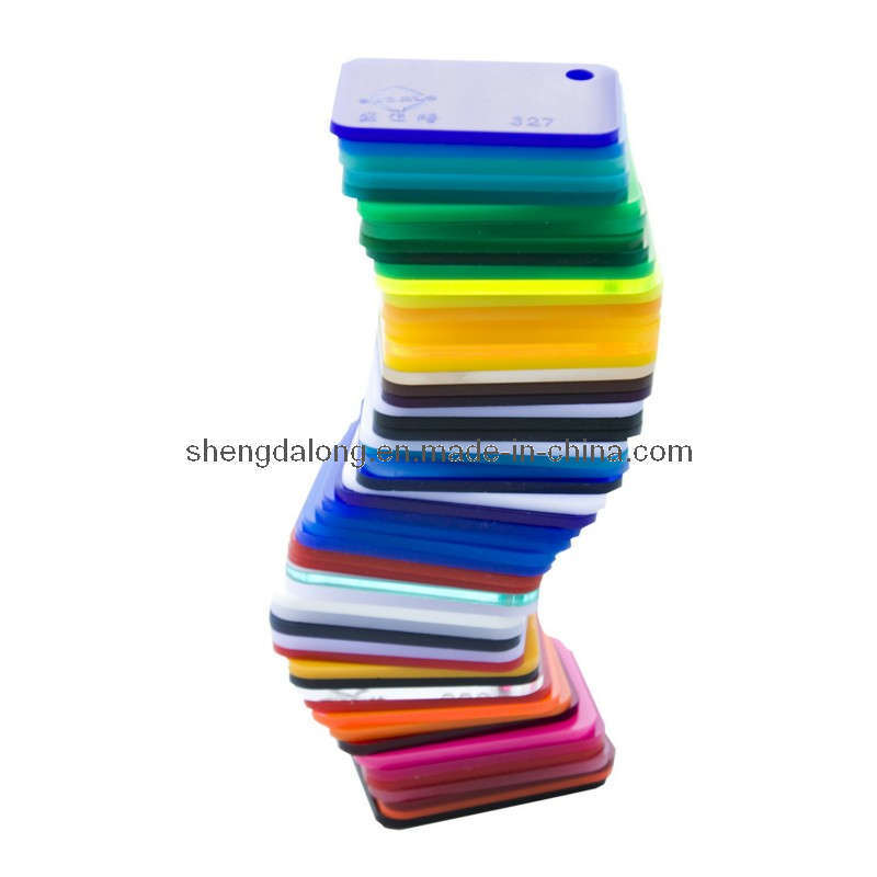2-30mm Colored Cast Acrylic Sheet