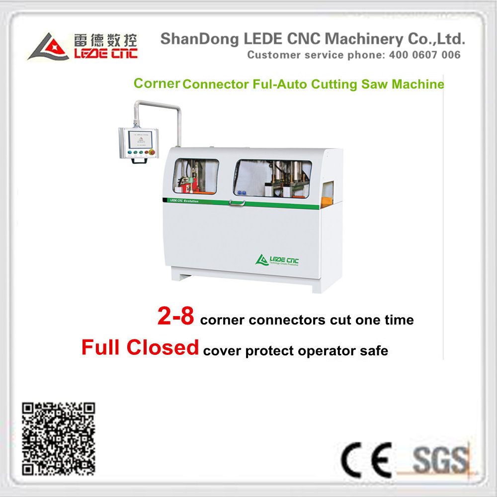 CNC Control Conner Connector Cutting Saw Machine 2-8 Multi-Cut for Aluminum Window