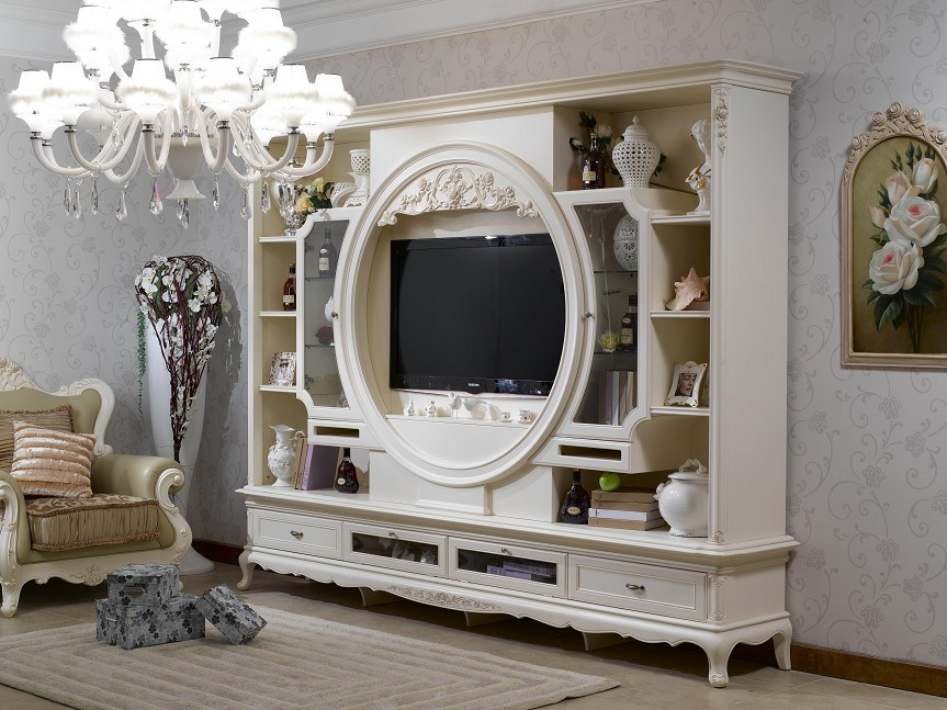 China french style living room set furniture bjh 510 china furniture tv cabinet for French style living room furniture