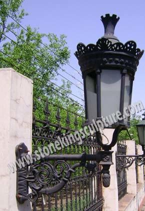 Cast Iron Lamp (SK-5023)