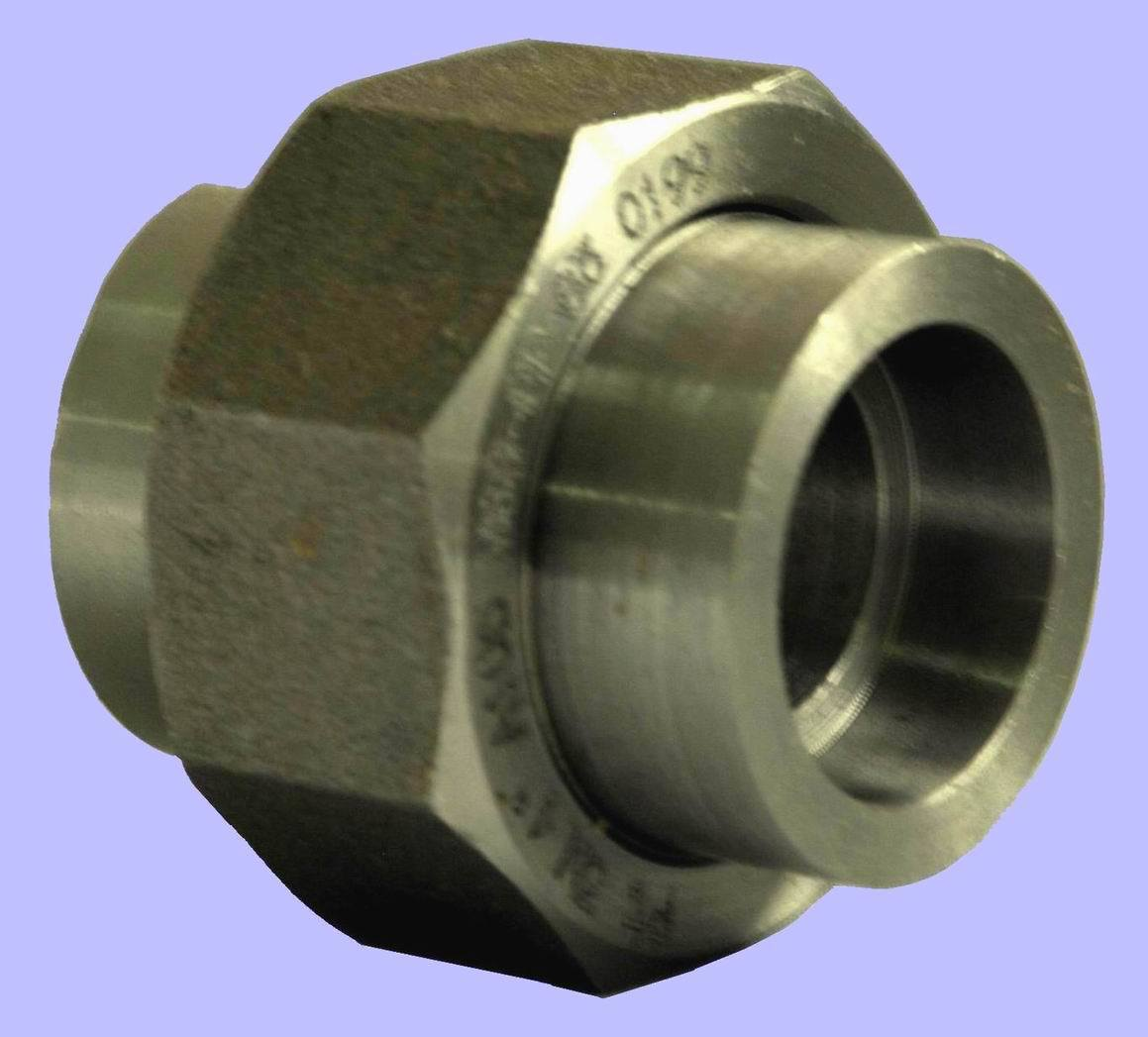China steel pipe fitting sw union