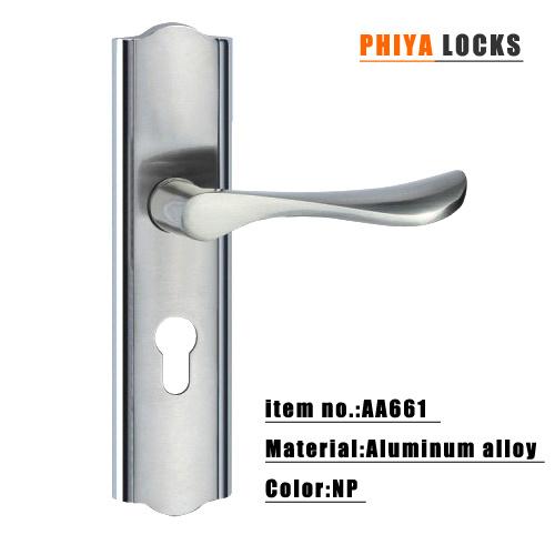 Aluminum Door Lock For Aluminum Door