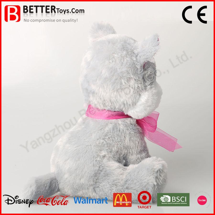 China Soft Plush Stuffed Animal Cat Toy
