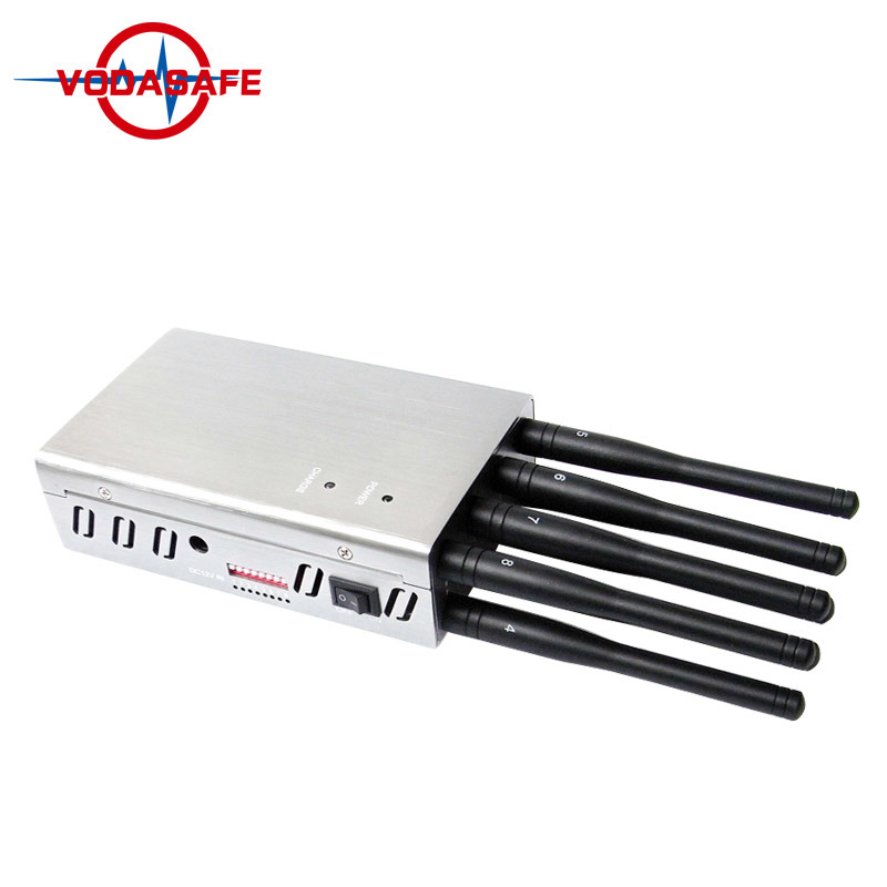 China Updated Version of Portable 8 Bands 4G Lte Cell Phone Jammer - Block 2g 3G 4G Phone Signal - Single-Band Control + Four Sides Wind Slots - China Cell Phone Signal Jammer, Cell Phone Jammer