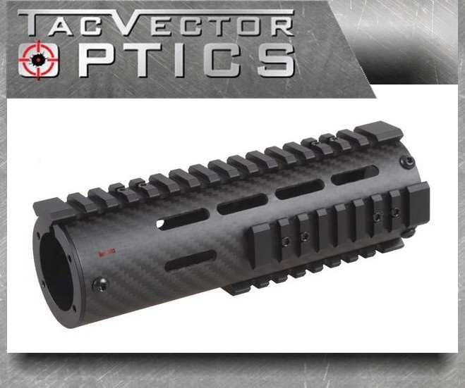 Carbon Fiber Tactical Free Float Carbin 7 Inch Ar15 M4 Handguard