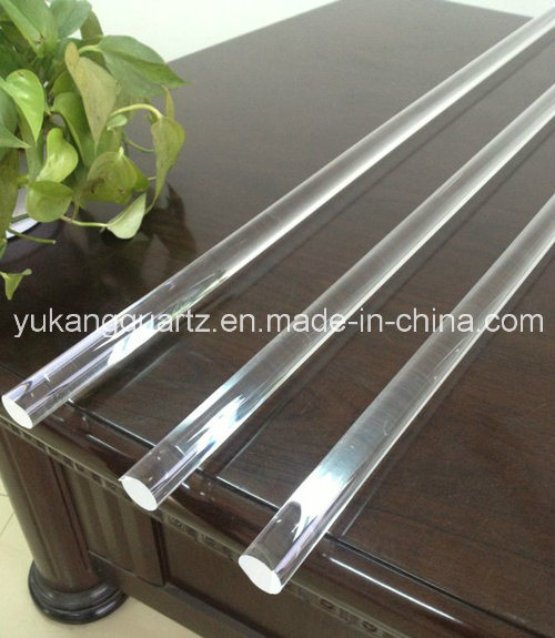 Different Size/Diameter/Specification Quartz Glass Rod for Solar Used