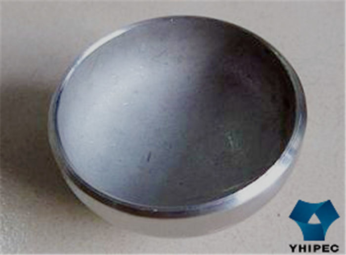 China butt weld seamless stainless steel pipe fitting cap