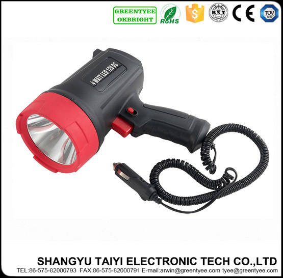 10W 800lm CREE LED Rechargeable Handheld Flashlight