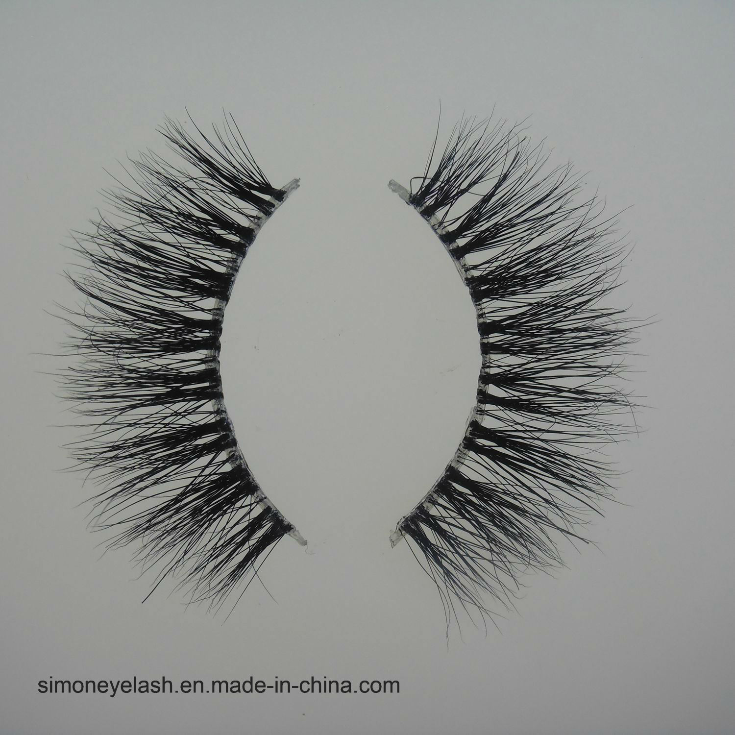 Natural Minkhair Eyelashes for Eye Makeup