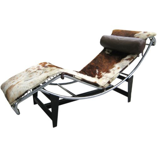 China le corbusier chaise longue lc 008 china le for Chaise longue design le corbusier
