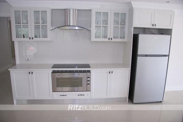 Ritz Kitchen Cabinet, American Style High Gloss Kitchen Furniture