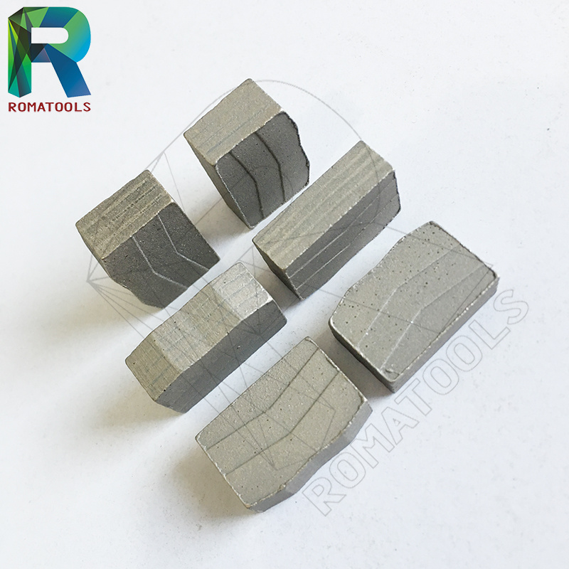 Quality Diamond Segments for Granite Hard Stone Marble Cutting