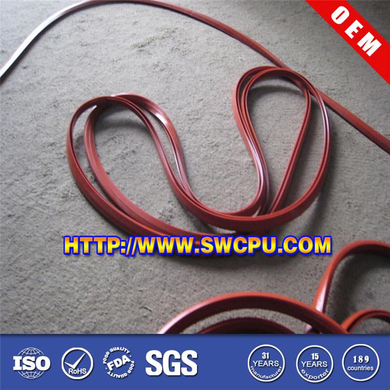 High Temperature Silicon Rubber Sealing Strip (SWCPU-R-E027)