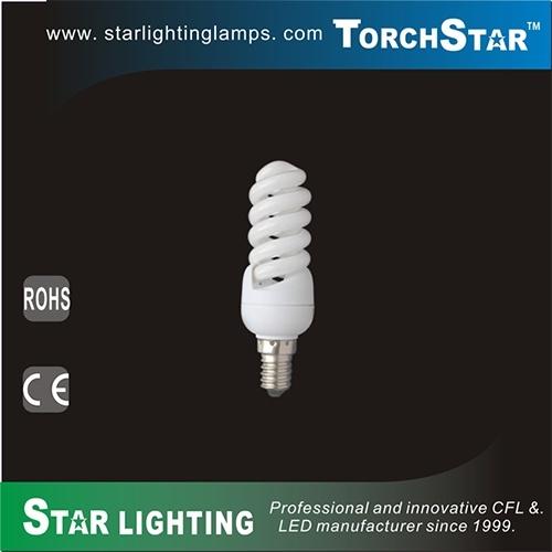 T2 11W Full Spiral PBT CFL Lamp