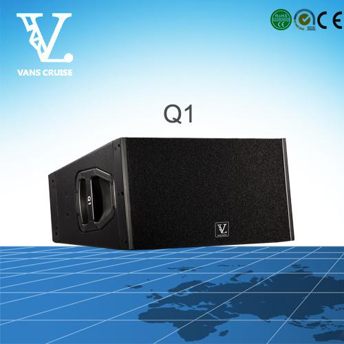 Q1 Double 10inch 2-Way Outdoor Line Array PA Speaker