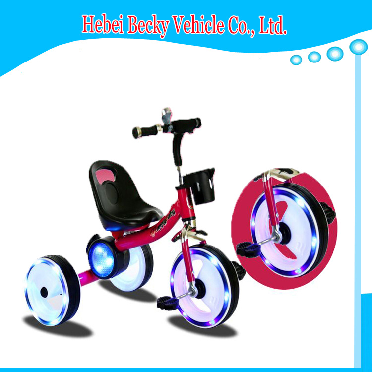China Kids Tricycle with Music Ride on Car Children Bike Scooter