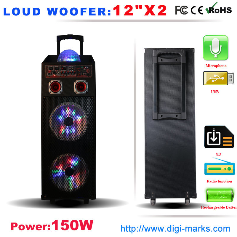 Ce Certificated Karaoke Speaker Box Active Speaker Home Theater System