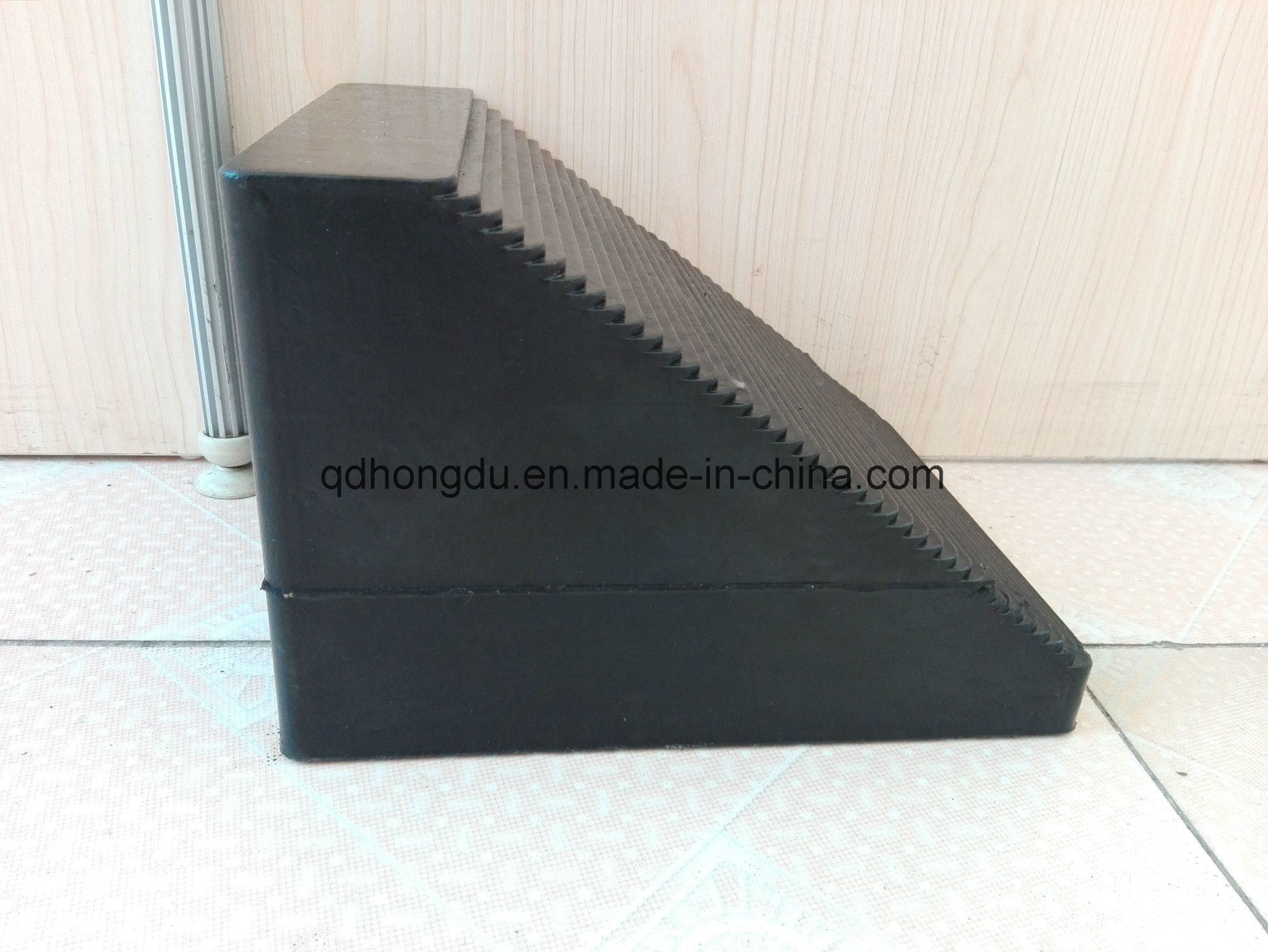 Car Wheel Chock, Car Buffer, Rubber