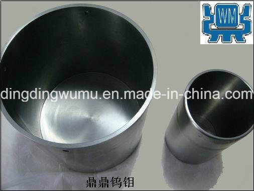 Pure Molybdenum Crucible for Vacuum Furnace Melting and Coating