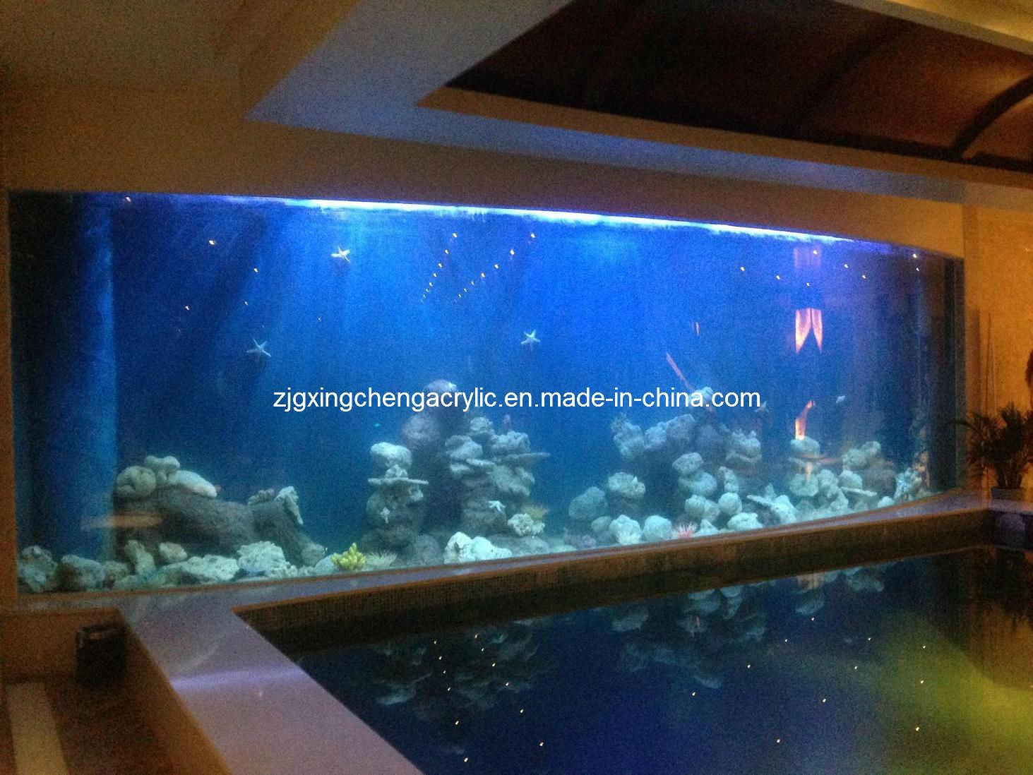 Aquarium fish tank china - Transparent Acrylic Aquarium Plexiglass Fish Tank Manufacturer