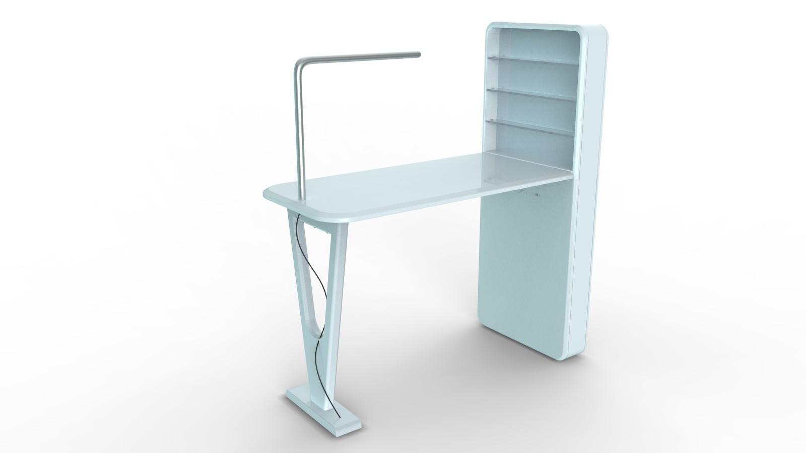 Acetone Proof Manicure Table (TKN-D102)