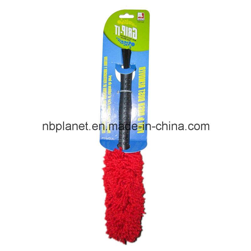 Dual Purpose Plastic & Caddice Car Duster Brush