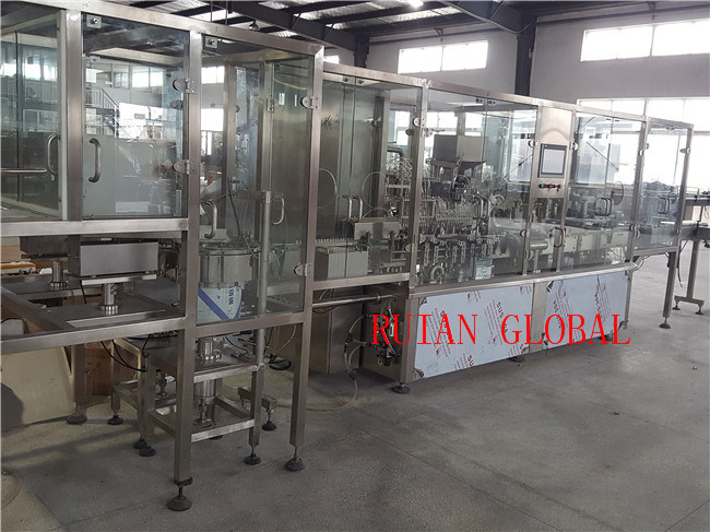 Liquid Filling and Capping Machine for Syrup Oral Liquid