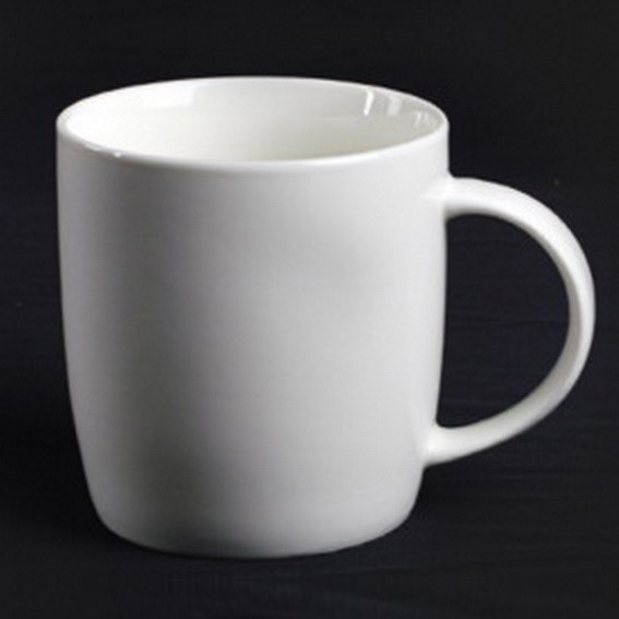 Super White Porcelain Mug - 14CD24364