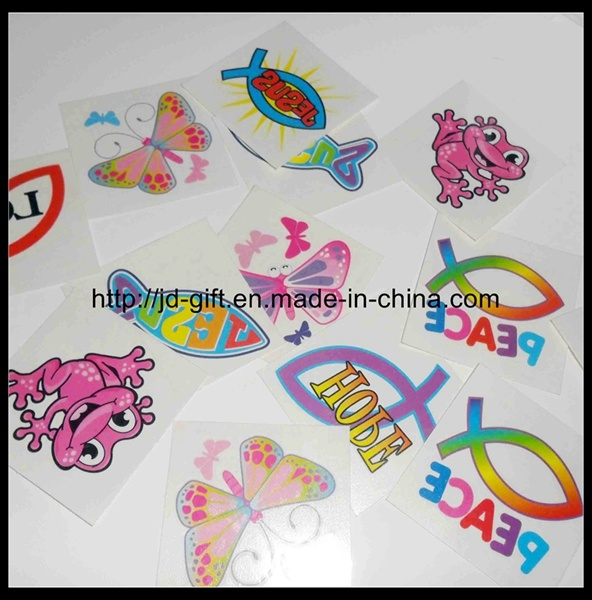 Animal Safe Glitter Tattoo Sticker for Kids and Adults