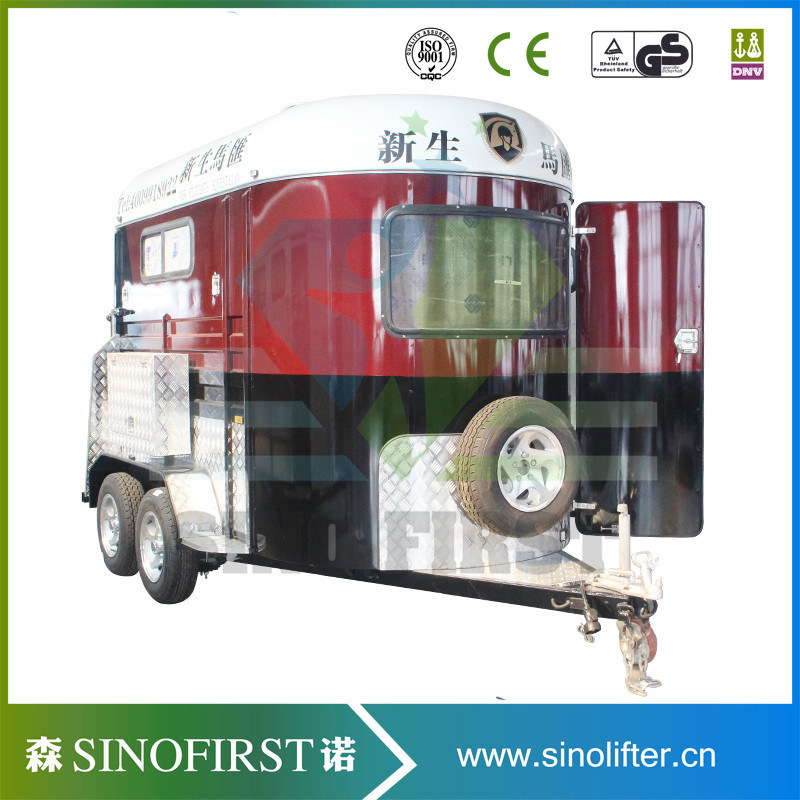 Angle Horse Float, Extened Horse Float Trailer, Horse Box Trailer
