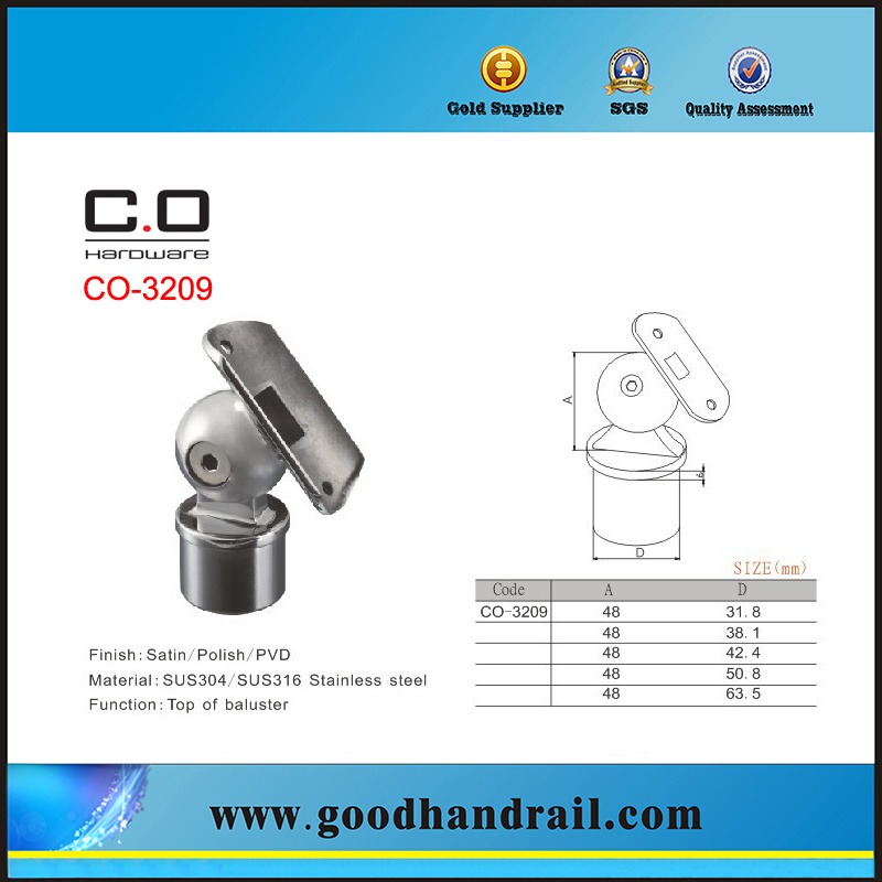 Stainless Steel Pipe Support Bracket (CO-3209)