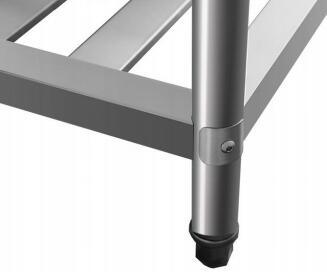2 Layers Stainless Worktable (STW002)