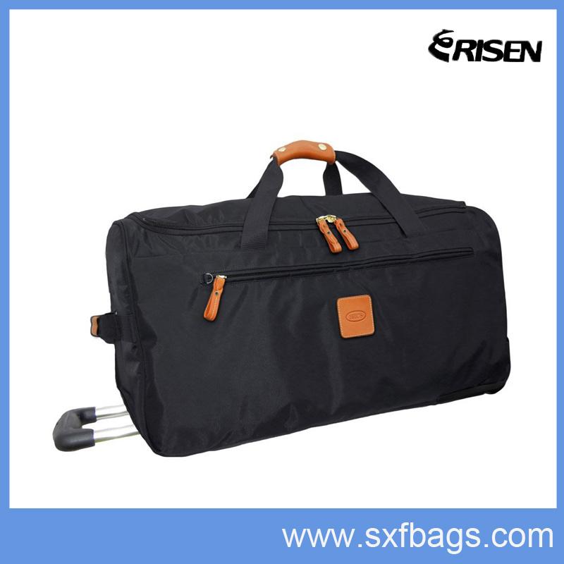 2016 Top Sell BSCI Outdoor Rolling Wheel Travel Trolley Bag