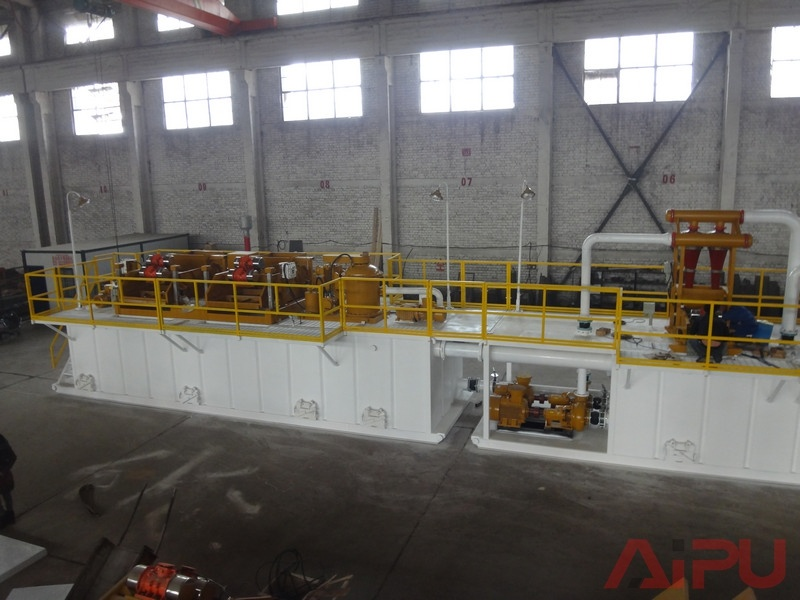 Well Drilling Solids Control System of Oil for Sale