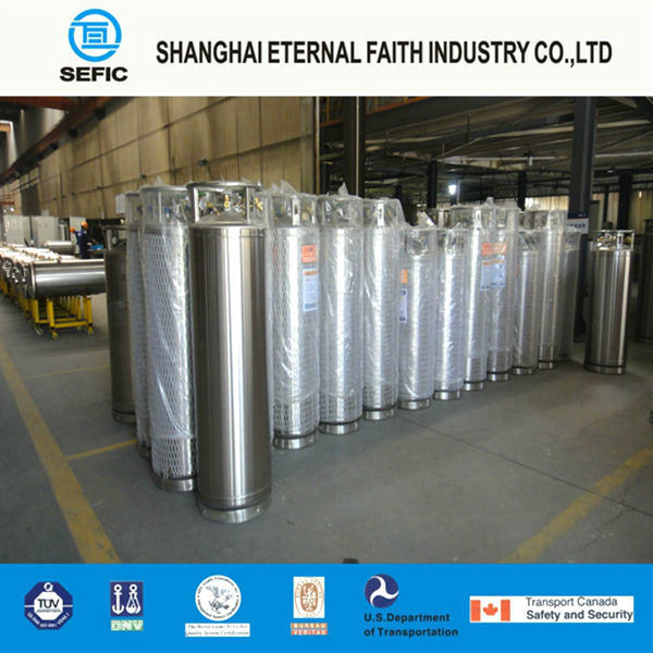 Liquid Nitrogen Oxygen Argon CO2 Gas Cylinder (DPL-450-175)