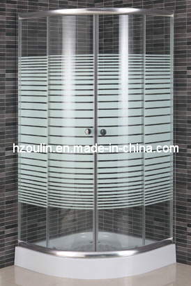 Shower Enclosure with Lines (E-01L)