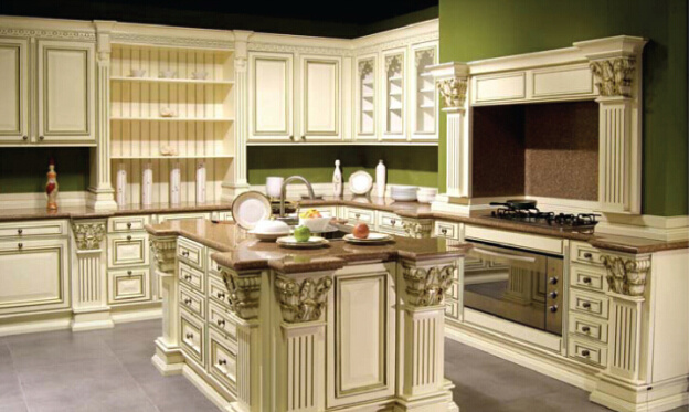 Russia 39 S Most Popular Classic Antique White Wood Kitchen Cabinet